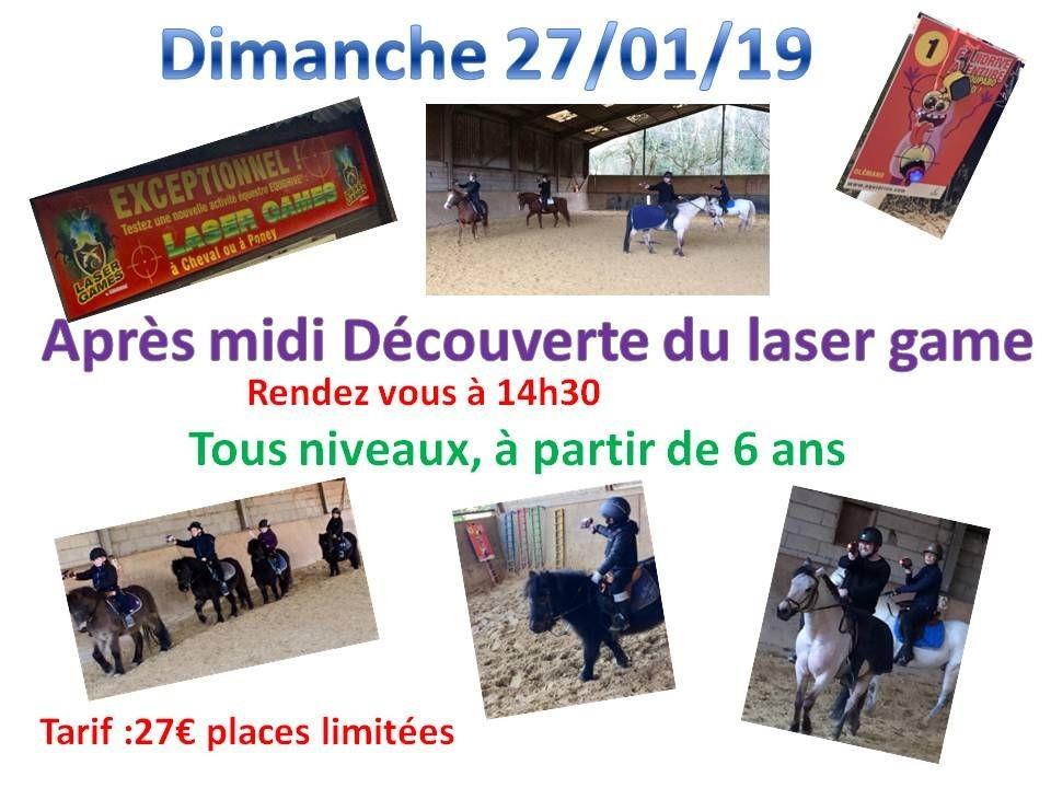 27 - 01 - 2019 après-midi Laser games