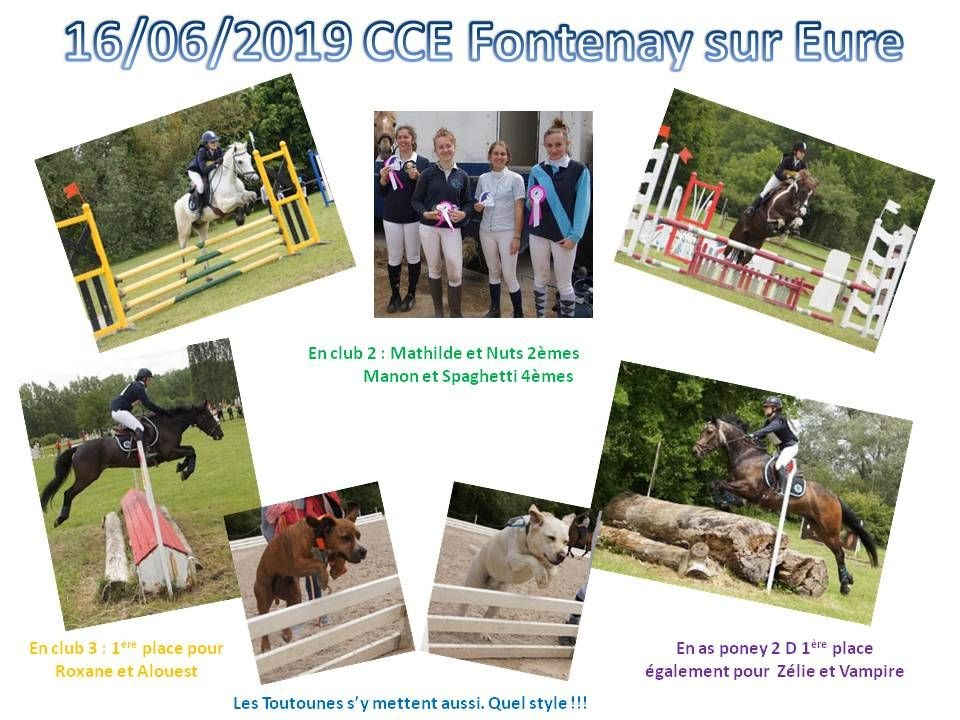 16 - 06 - 2019 CCE Fontenay sur Eure