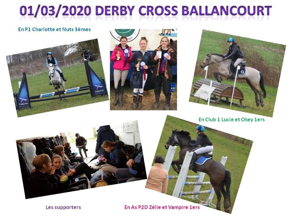 01 - 03 - 2020 Derby Cross à Ballancourt