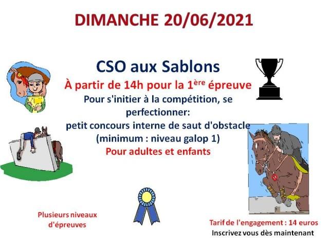 20 - 06 - 2021 CSO interne au club